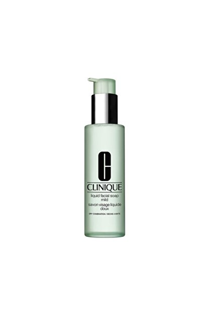 Clinique Yüz Temizleme Jeli - Liquid Facial Soap Mild Skin 200 ml 020714227661