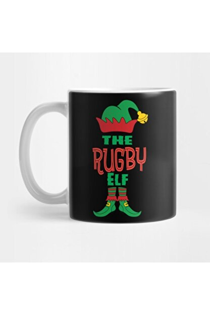 TatFast Rugby Elf Family Matching Group Christmas Kupa