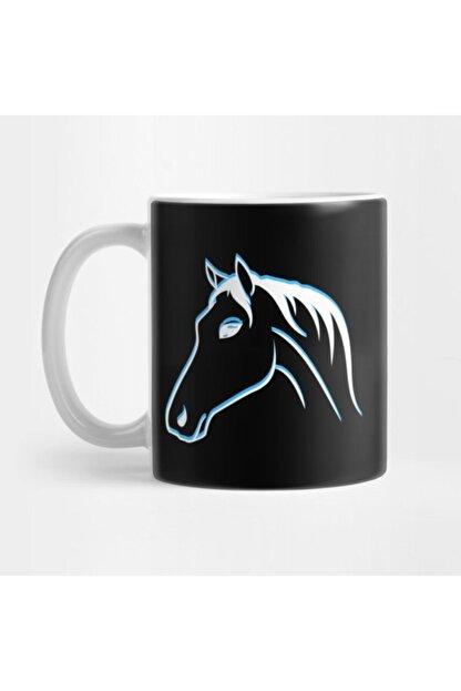 TatFast Horse Outlines Blue, Horse Fan, Rider Kupa