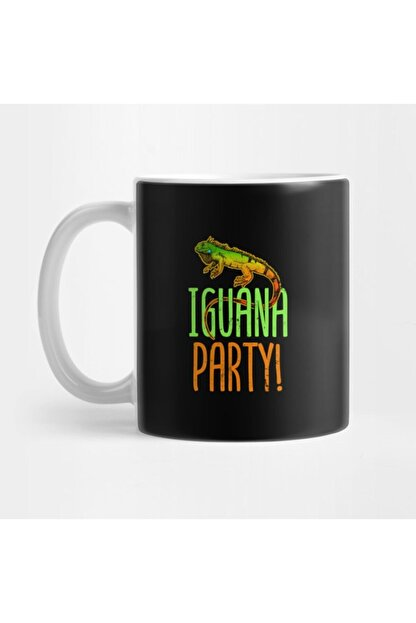 TatFast Iguana | I Go To Party Gift Kupa