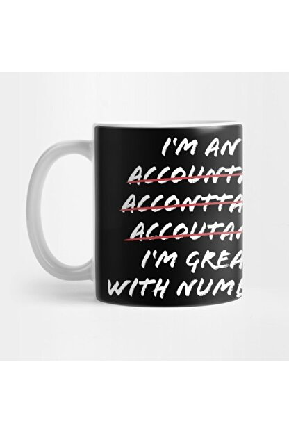 TatFast I'm Great With Numbers Funny Accountant Cpa Gift Kupa