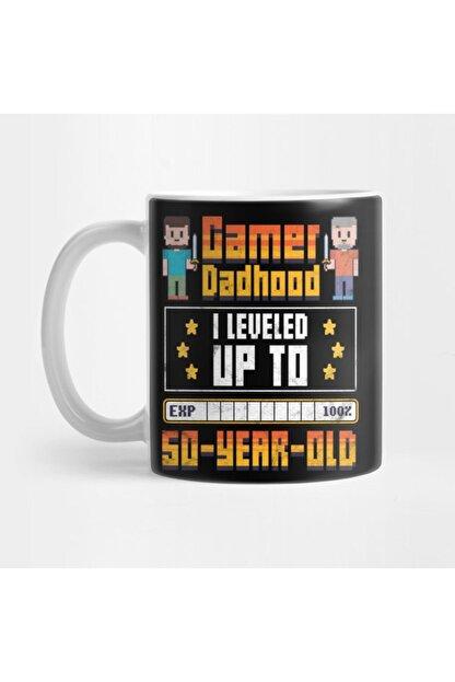 TatFast Best Father Gamer Dad 50 Years Kupa