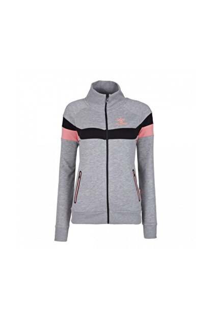 HUMMEL Kadın Gri Pembe Sweatshirt