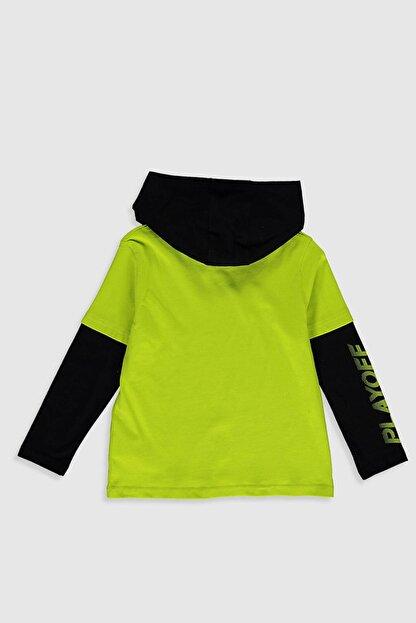 LC Waikiki Erkek Çocuk Canlı Yeşil Fxg T-Shirt