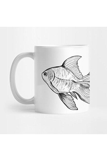 TatFast Hand Drawn Fish Kupa