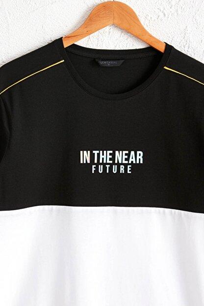 LC Waikiki Erkek Yeni Siyah Tişört 0SE291Z8