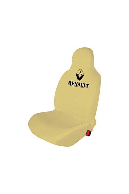 Antwax Renault Fluence Koltuk Kılıfı Penye Set Krem