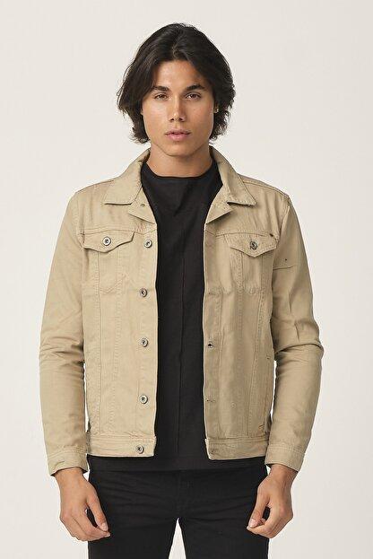 Five Pocket Erkek Krem Renk Ceket