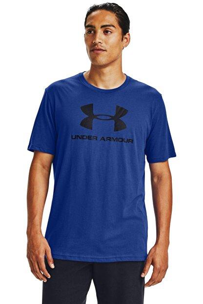 Under Armour Erkek Spor T-Shirt - Ua Sportstyle Logo Ss - 1329590-584