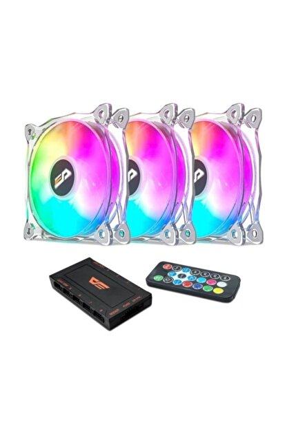 Dark Flash Cf8 Pro 3pin A-rgb 3x12cm Fan Kit (3'lü)