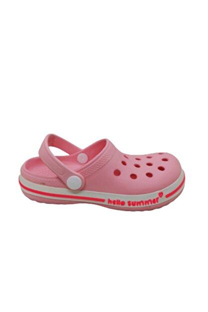 Akınalbella Kız Çocuk Şeker Pembesi Crocs Terlik