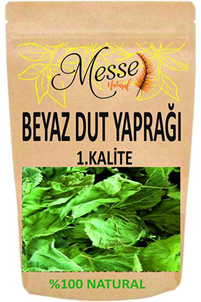 messe natural Beyaz Dut Yaprağı 100 Gr 1.kalite Yeni Sezon Beyaz Dut Yaprağı Çayı