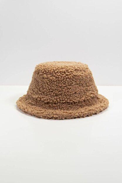 Addax Kadın Sütlü Kahve Bucket Şapka Şpk1031 - F2 ADX-0000022934