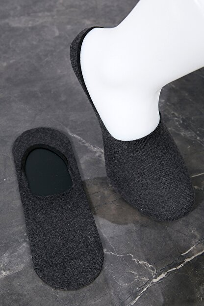 Sateen Men Erkek Antrasit Babet Çorap