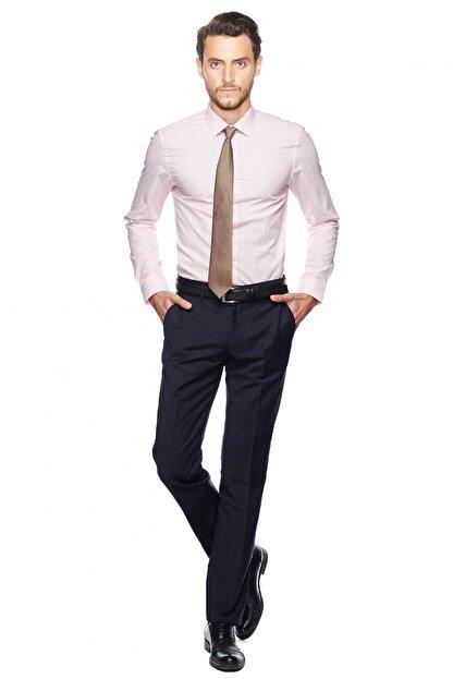 Altınyıldız Classics Erkek Pembe Tailored Slim Fit Gömlek
