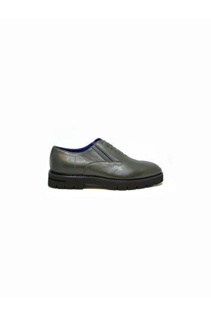 ALBERTO GUARDIANI Erkek Yeşil Klasik Ayakkabı