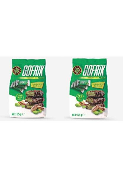 Kahve Dünyası 2 'li Gofrik Mini Çikolata 125 gr %23 Antep Fıstıklı