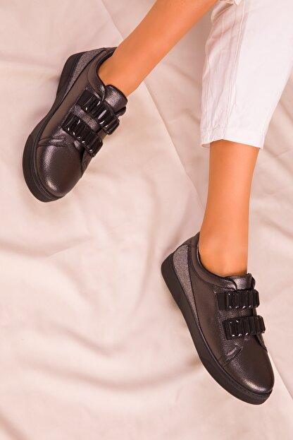 Soho Exclusive Platin Kadın Sneaker 15890