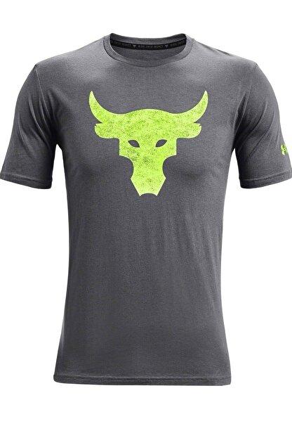 Under Armour Erkek Spor T-Shirt - UA Pjt Rock Brahma Bull SS - 1361733-012