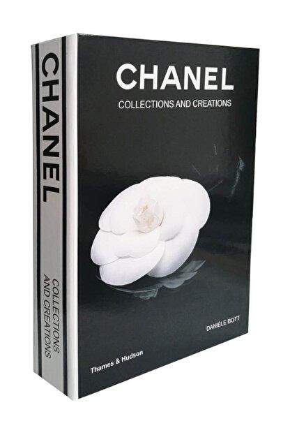 STARKMEN Siyah Chanel Collections And Creations Dekoratif Kutu