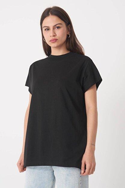 Addax Kadın Siyah Basic T-Shirt P0769 - U13 Adx-0000020933