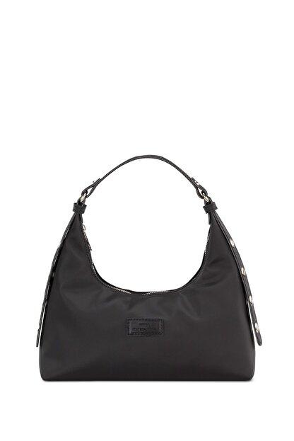 Housebags Kadın Siyah Baguette Çanta 205