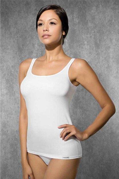 Doreanse Kadın Ekru Modal Ip Askılı Atlet 9320