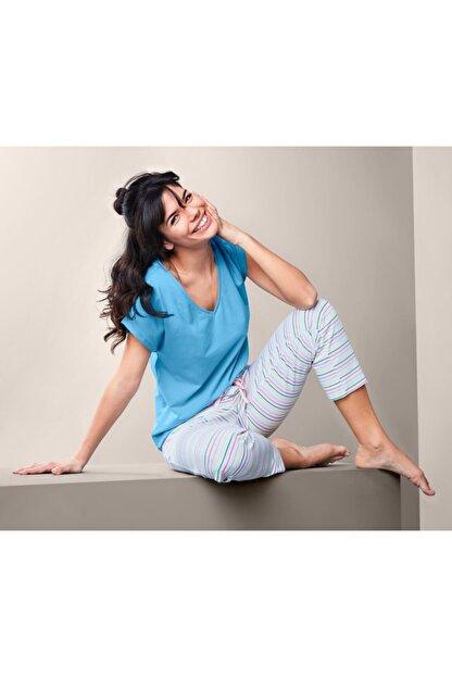 Tchibo Kadın Pamuklu Pijama Takımı