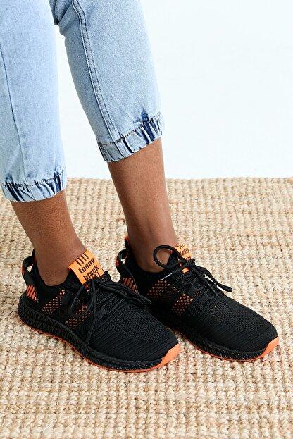 Tonny Black Unısex Siyah Spor Ayakkabı Tbıdl