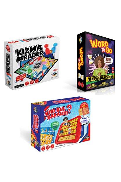 Moli Toys Word To Go Anlat Bakalım ( Tabu Benzeri) + Kızma Birader + Kim Bul Bakalım 3'lü Süper Paket