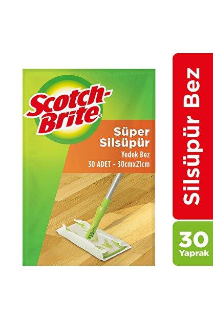 Scotch Brite Sil Süpür Paspas Q600 Yedek Bez - 30 Adet