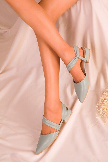 Soho Exclusive Yeşil Kadın Sandalet 15933