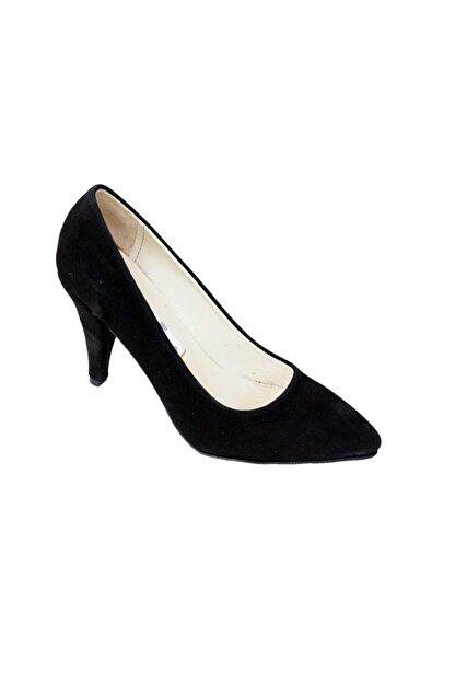 Ustalar Ayakkabı Çanta Siyah Süet Kadın Hakiki Deri Stiletto 364.2713