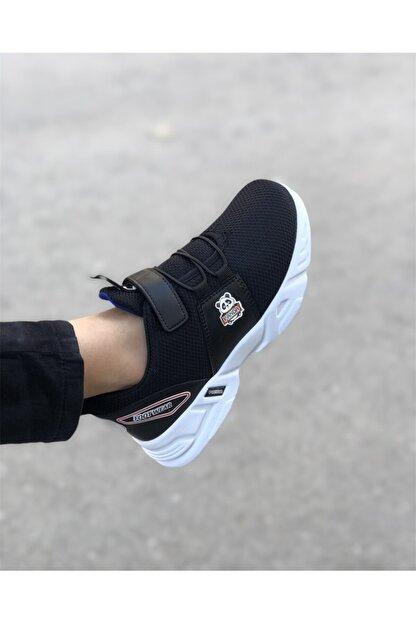 EDS Shoes Çocuk Siyah Sax Panda Günlük Ayakkabı