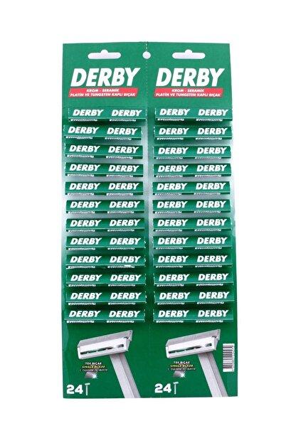 Derby Kartela Tek Traş Bıçağı 48 Li