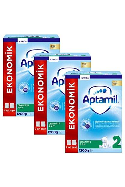 Aptamil Devam Sütü 2 Numara Yeni Formül 1200 gr x 3 Adet