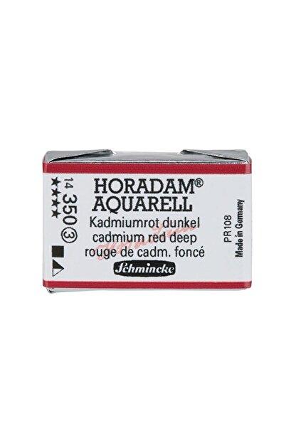 Schmincke Horadam Artist Sulu Boya Tam Tablet 350 Cadmium Red Deep