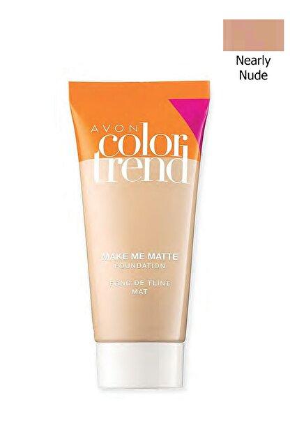 Avon Color Trend Mat Görünüm Veren Fondöten Nearly Nude 30 ml 8681298931720