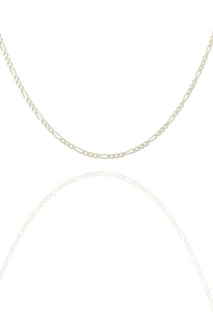 Takıdepo Figaro Model Gümüş Zincir 40 Mm Kalınlık