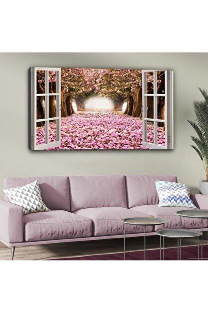 hanhomeart Aşk Yolu Pencere Kanvas Tablo 60 X 120cm