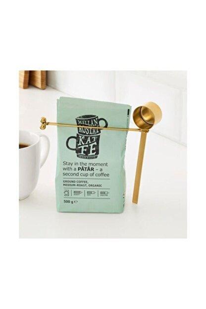 IKEA Tempererad Kahve Ölçeği Ve Klips Pirinç Rengi