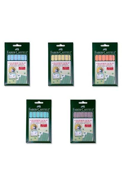 Faber Castell Faber Tack-it Hamur Yapıştırıcı Karışık Renk 50 gram (5130187093) Kampanyalı