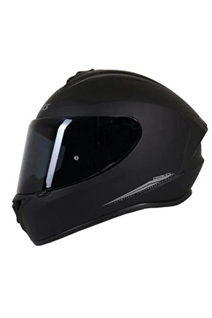 Axxis Kask Draken Matt Black Motosiklet Kaskı