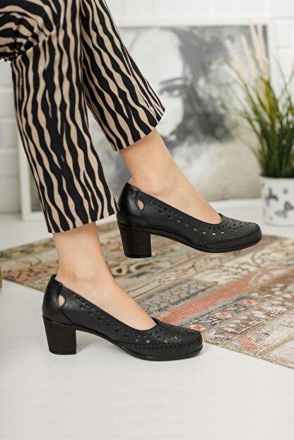 Diego Carlotti Kadın Deri Günlük Klasik Topuklu Ayakkabı
