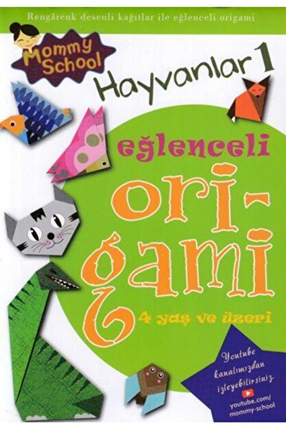 Timo Eğlenceli Origami Hayvanlar 1