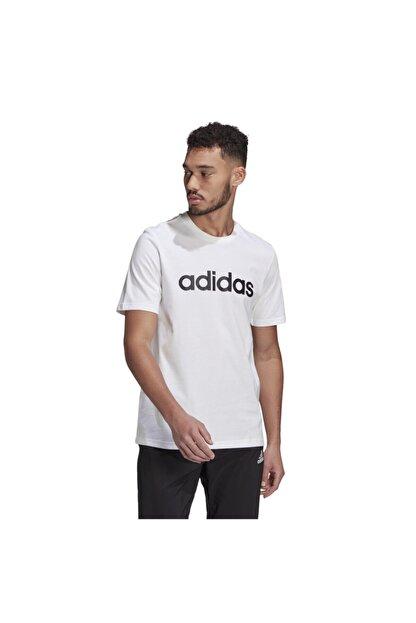 adidas Essentials Embroidered Linear Logo Short-sleeve Erkek Tişört
