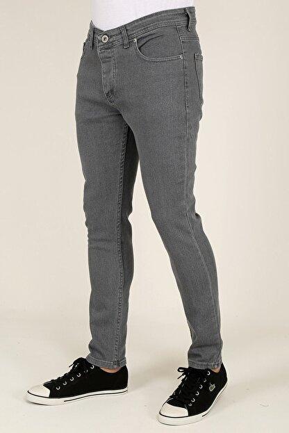 Terapi Men Erkek Gri Slim Fit Kot Pantolon 21k-2100482-1