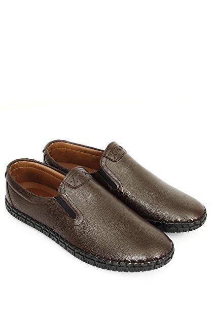 GÖNDERİ(R) Hakiki Deri Kahve Antik Erkek Günlük (Casual) Ayakkabı 01210
