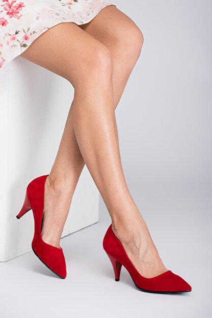 Fox Shoes Kırmızı Kadın Topuklu Ayakkabı A922151102