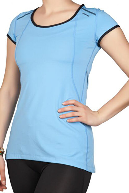 Exuma Kadın Mavi T-shirt - 142252